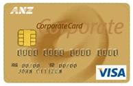 Example of an ANZ Travel Card